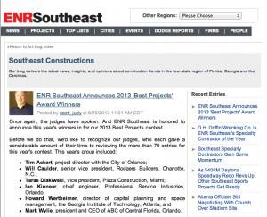ENR Southeast Best Project